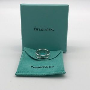 Tiffany & Co. 1837 Series Ring HTF Size 9.5!!